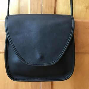 Vintage Coach Lindsay Crossbody Black Purse